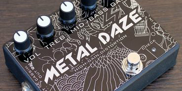 metal daze menu